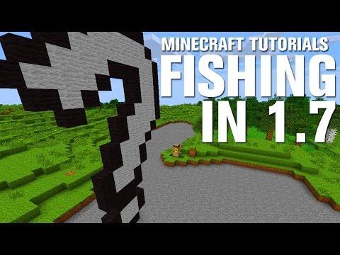 Minecraft Tutorials: Fishing in 1.7