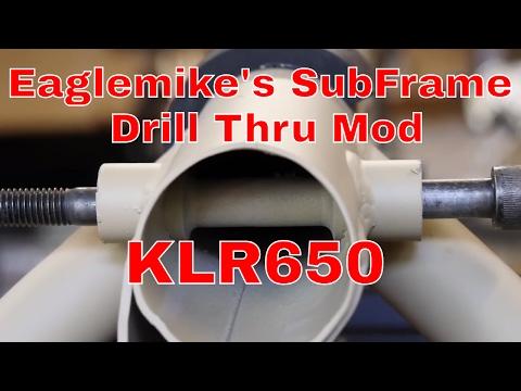 Eagle Mfg. KLR 650 Drill Through Subframe Bolt Upgrade Kit