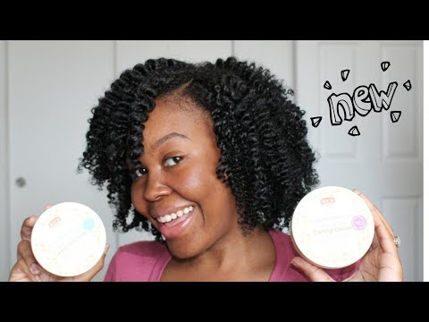 NEW African Pride Moisture Miracle Leave In & Curling Cream | Demo & Review