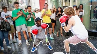 Boxing in Public!