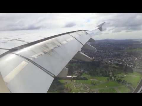 Go Around and Landing | Onboard Emirates A380 | Auckland Airport | A6-EDD