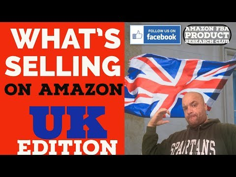 What Products Sell On Amazon?  UK EDITION | Product Research with Jungle Scout  (vlog17)