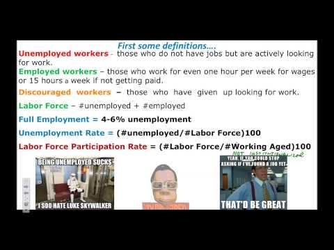 Unemployment Calculations