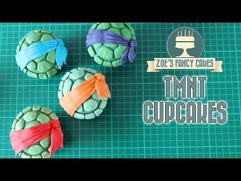 Teenage Mutant Ninja Turtles cupcakes : TMNT cakes