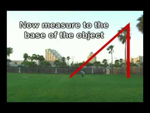 Measure Height Of Any Tall Object!