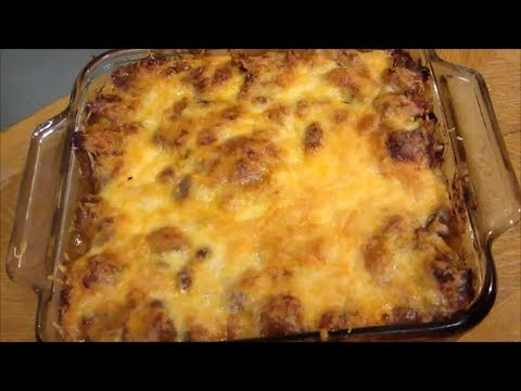 Chili Cheese Fries - Chili Cheese Fries Casserole - Recipe
