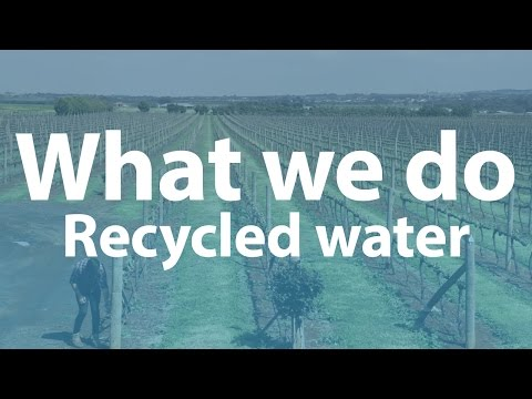 What Western Water does - recycled water