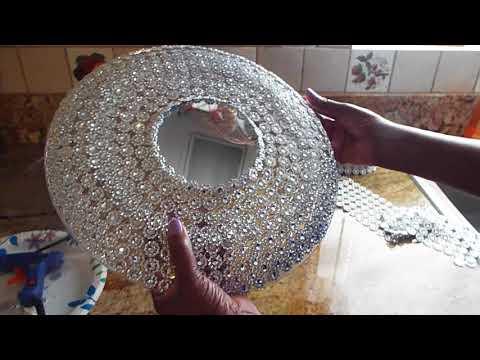 Diy Dollar Tree Decorative Mirror Design