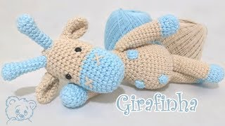 HOW TO CROCHET LITTLE GIRAFFE 🦒🦒🦒 - YouTube | 180x320