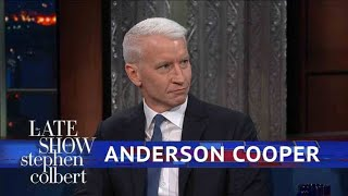 Anderson Cooper Walked Out Of The New