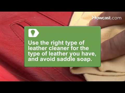 How to Get Odor Out of Leather