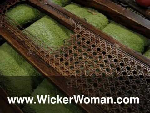 Chair Caning Tip--Cane Webbing Removal