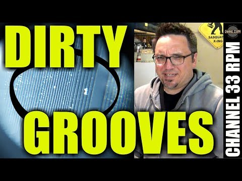 THIS is why you MUST clean new records | Testing Vinyl Vac record cleaning fluid