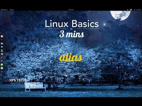 LINUX BASICS IN 3 MINS : ALIAS COMMAND