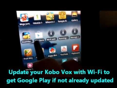 Install Game Apps on Kobo Vox Tablet eReader with Google Play Market App