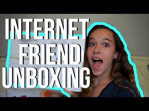 INTERNET FRIEND UNBOXING