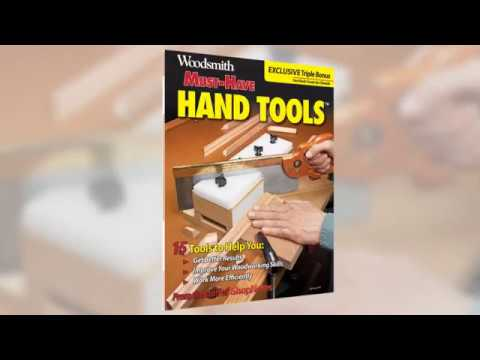 Woodsmith: Must-Have Hand Tools Book