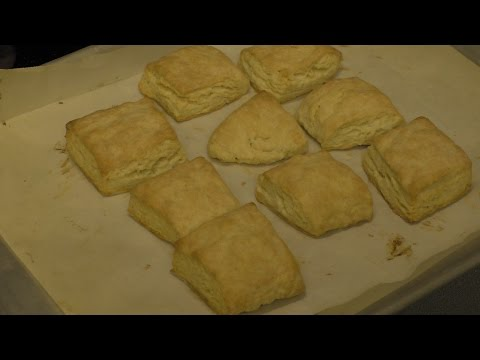 How to make the Best Flaky buttermilk biscuits with a screwdriver