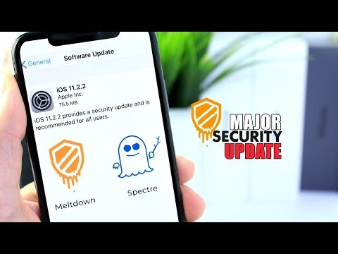 iOS 11.2.2 Released | MAJOR SECURITY UPDATE!