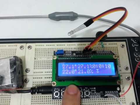 Arduino Mushroom Incubator
