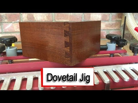Half Blind Dovetail Jig - My First Joints