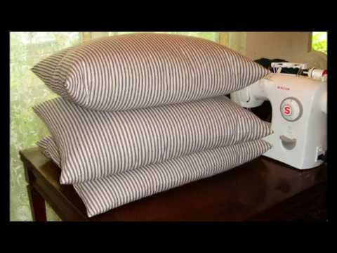 How to Make a Feather Pillow