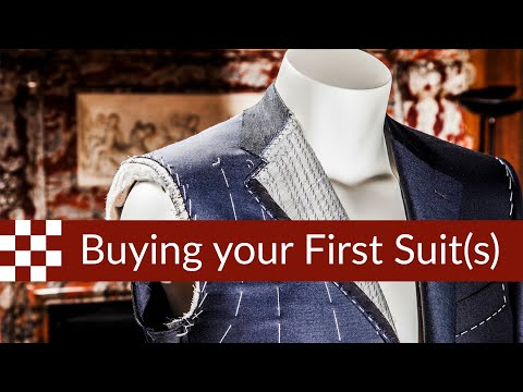 How to Build a Wardrobe : Buying Your First Suit(s)