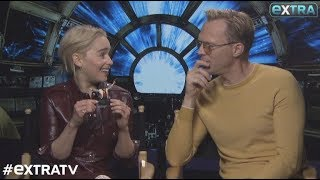 Emilia Clarke and Paul Bettany Dish on