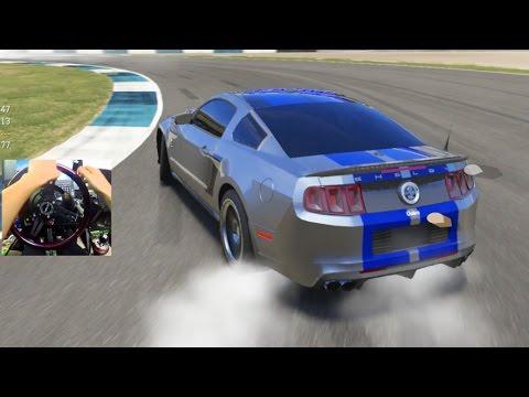 Forza 6 540' SIM Steering w/Wheel - Public Drift Hopper Challenge!!