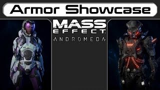 All Armors - Mass Effect Andromeda Showcase And Guide
