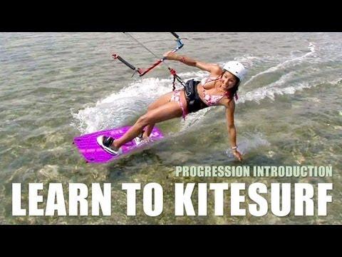 Learn To Kitesurf - Progression Kiteboarding Beginner