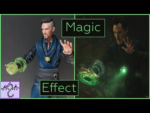 How to Make Action Figure Sized Magic Effect for Doctor Strange (Movie Style)