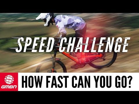How Fast Can You Go On A Mountain Bike? | GMBN Speed Challenge