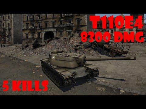 World of Tanks Xbox 360 T110E4 Urban Warfare