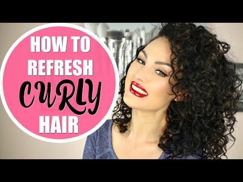 HOW I REFRESH MY CURLS   The Glam Belle