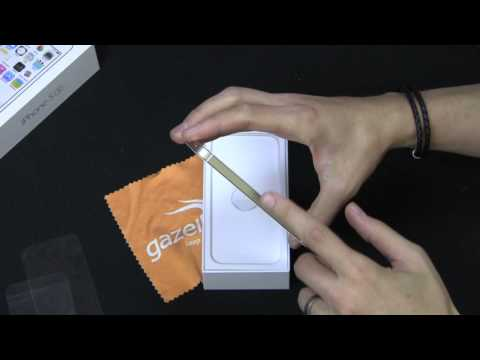 Gold iPhone 5S Unboxing Video