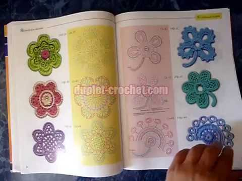 Crochet School For Beginners - Irish Crochet Class - extra issue #8