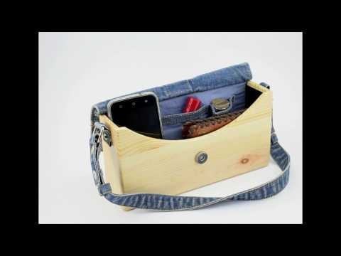 Lady's wooden  bag
