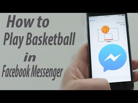How to Play Basketball in Facebook Messenger