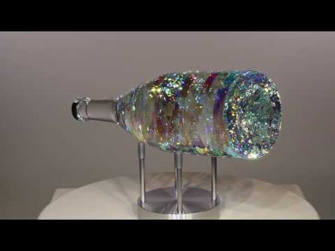 BellaVino Chardonnay - Glass Sculpture by Jack Storms