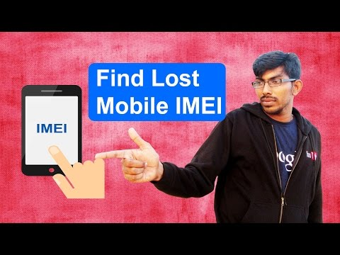 How to Find Lost IMEI Number - Tamil Techguruji