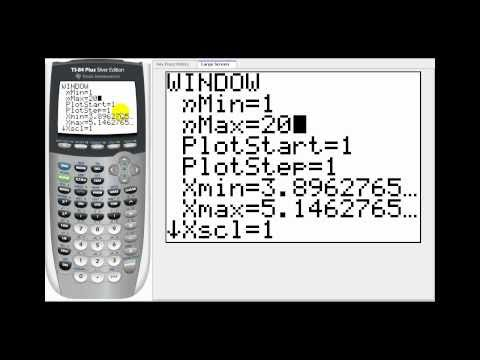 Graphing Partial Sums of an Infinite Series on the TI84
