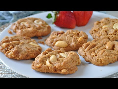 BEST Easy Diabetic Peanut Butter Cookies Recipe - Gluten Free Peanut Butter Cookies
