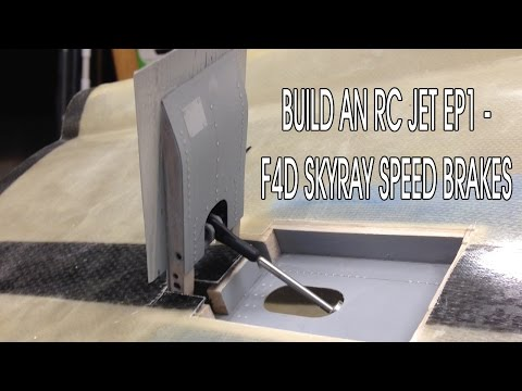 Build an RC Jet Ep 1 - F4D Skyray Speed Brakes