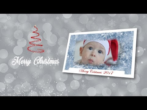TUTORIAL Christmas Slideshow Particles Customized in Premiere Pr0 2017-2018