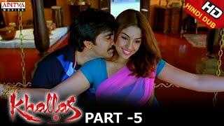 Khallas Hindi Movie Part 5/12 Raviteja, Richa Gangopadhay, Deeksha Seth