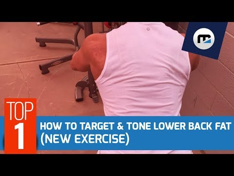 🚫  Eliminate Back Fat (Exercises to Target The Lower Back)