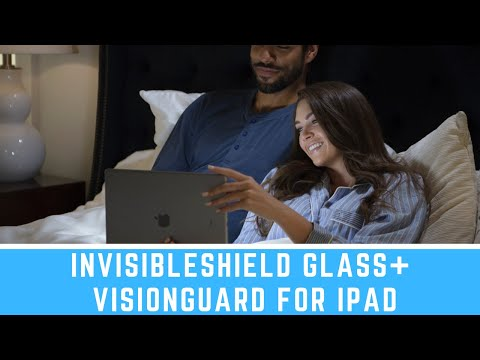 InvisibleShield Glass+ Visionguard iPad Screen Protector: Save Your Eyes from Blue Light