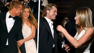 Are Brad Pitt and Jennifer Aniston Back On, Or Is It Our Imagination? | Rumour Juice
