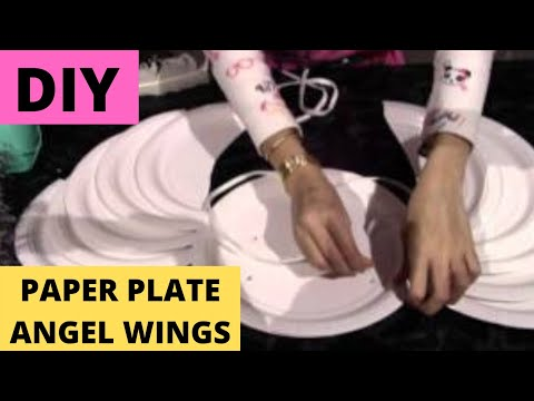 Make Angel Wings & Halo: use paper plates- $3.75 (DIY)